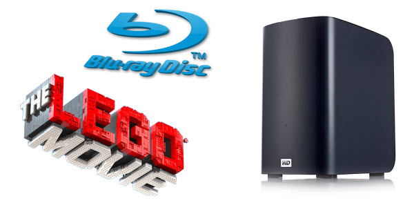 play blu ray on western digital my book live Move The Lego Movie(2014) Blu ray onto My Book Live for roku streaming with Mac OS X