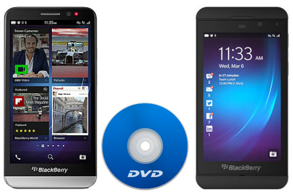 rip dvd to blackBerry z10 z30 How can I put Guardians of the Galaxy DVD onto BlackBerry Z10 and Z30