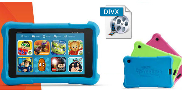 convert divx for kindle fire Play Divx files on Kindle Fire HDX, Kindle Fire HD 6/7 and Kids Edition, Kindle Fire, etc