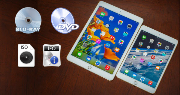 get iso ifo to ipad air 2 Import ISO/IFO image files into iPad Air 2 for watching via iTunes