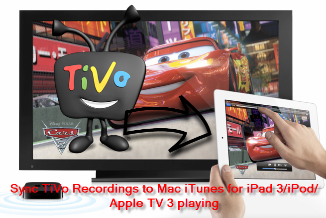 Convert TiVo shows to iTunes on Mac for iPad/iPhone/Apple TV watching easily Tivo-to-apple-tv3-ipad-3