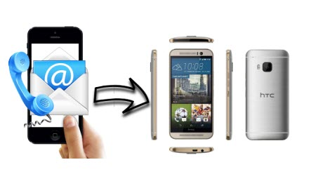 transfer contacts iphone to m9 How to: Transfer Contacts from an iPhone to an HTC One M9