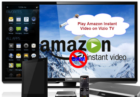 Play Amazon Instant Video on Vizio TV with Best Quality