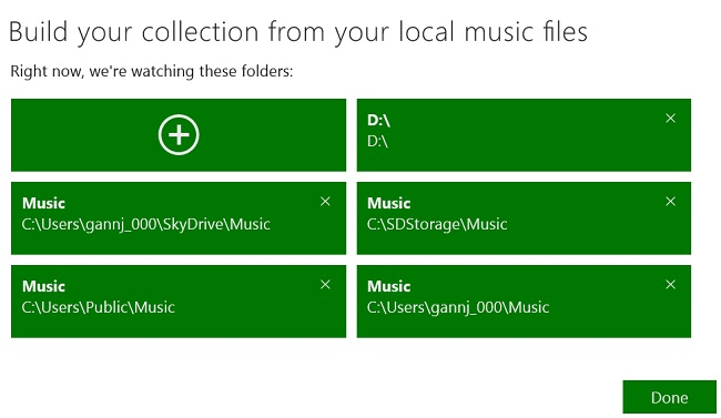 itunes add location Import iTunes to Surface – Updated for Windows 8