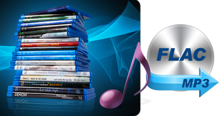 Blu-ray to FLAC