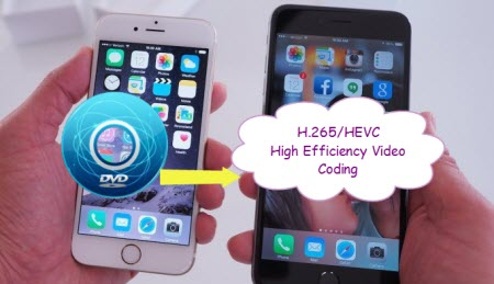 Convert DVD to H 265 for iPhone 6/6 Plus on Mac-Digitizing